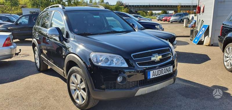 Chevrolet Captiva, 3.2 l., visureigis
