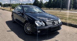 Mercedes-Benz CLK220, 2.2 l., coupe